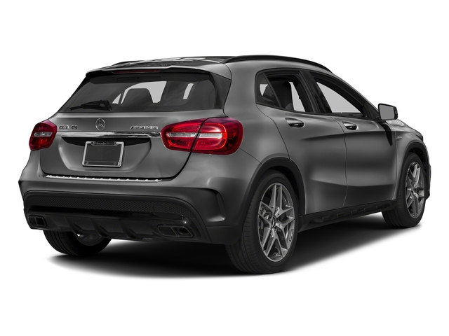 designo Mountain Grey Magno (Matte Finish) 2017 Mercedes-Benz GLA Pictures GLA Utility 4D GLA45 AMG AWD I4 Turbo photos rear view