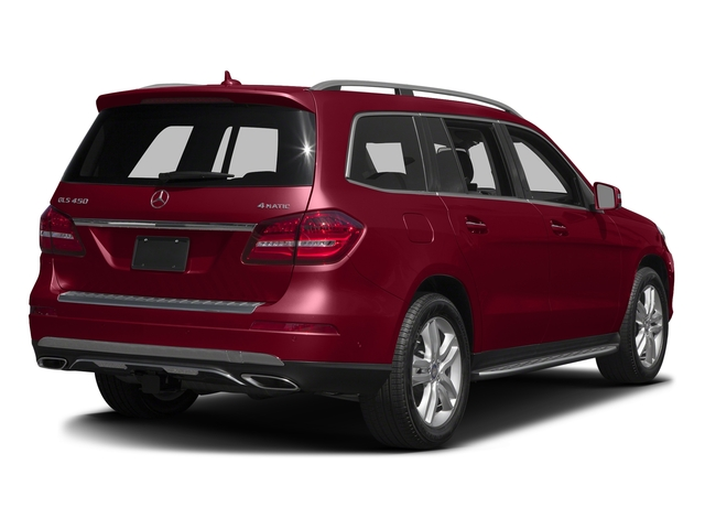 Designo Cardinal Red Metallic 2017 Mercedes Benz Gls 450 4matic Suv Rear View