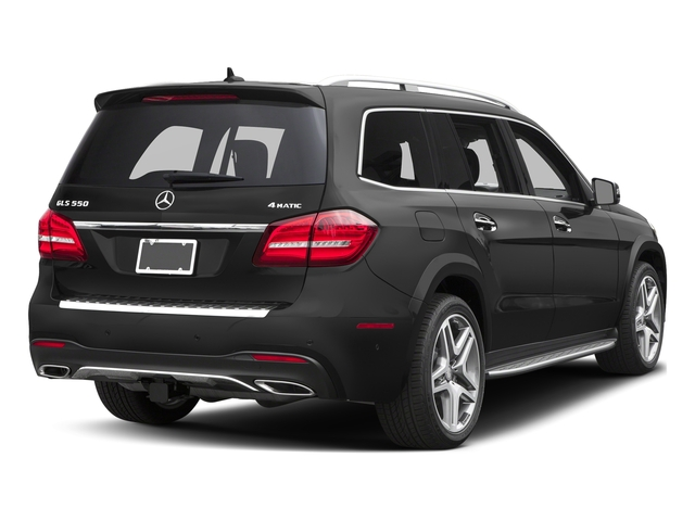 Steel Grey Metallic 2017 Mercedes-Benz GLS Pictures GLS Utility 4D GLS550 AWD V8 Turbo photos rear view