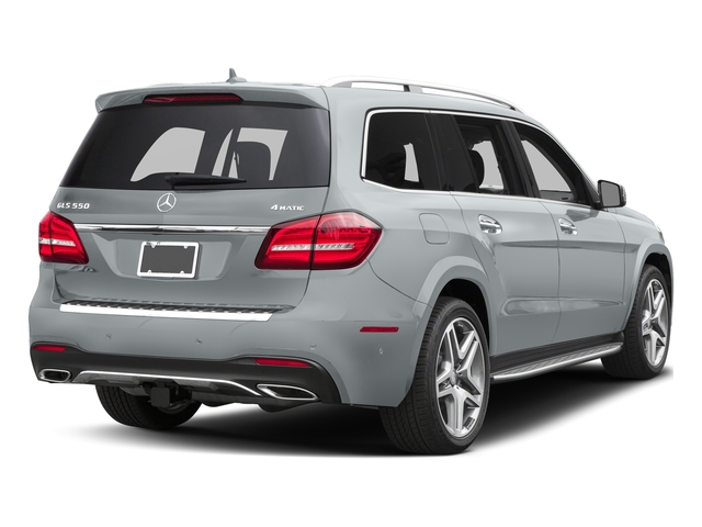 Diamond Silver Metallic 2017 Mercedes-Benz GLS Pictures GLS Utility 4D GLS550 AWD V8 Turbo photos rear view