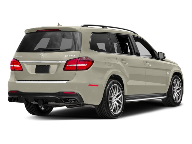 designo Diamond White Metallic 2017 Mercedes-Benz GLS Pictures GLS Utility 4D GLS63 AMG AWD V8 Turbo photos rear view