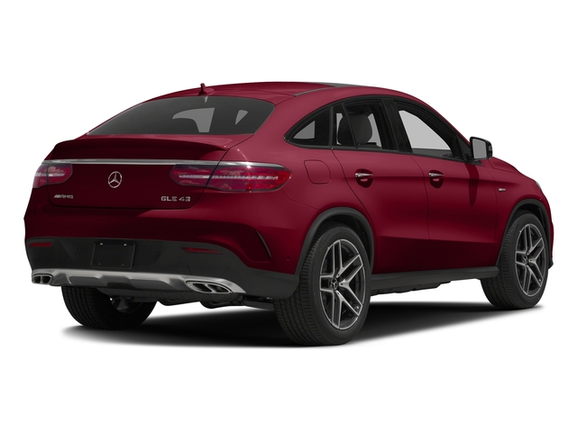 designo Cardinal Red Metallic 2017 Mercedes-Benz GLE Pictures GLE Utility 4D GLE43 AMG Sport Cpoe AWD photos rear view
