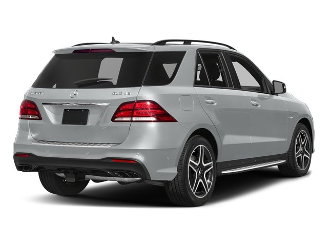 Iridium Silver Metallic 2017 Mercedes-Benz GLE Pictures GLE AMG GLE 43 4MATIC SUV photos rear view