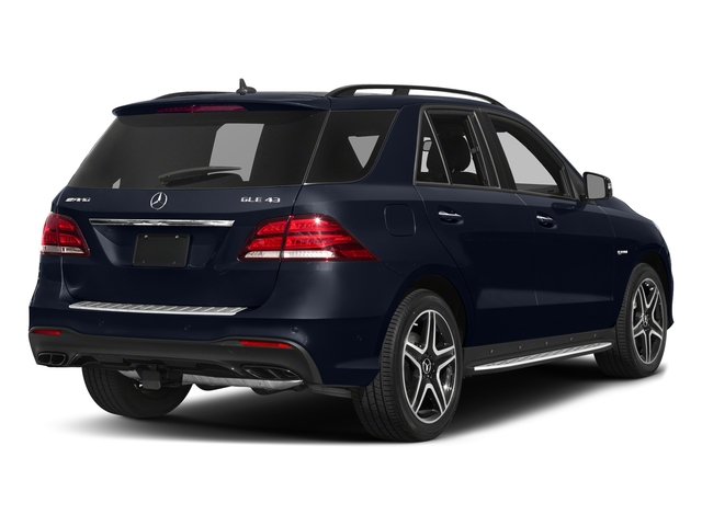 Lunar Blue Metallic 2017 Mercedes-Benz GLE Pictures GLE AMG GLE 43 4MATIC SUV photos rear view