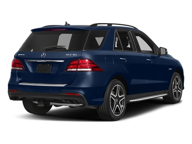 Brilliant Blue Metallic 2017 Mercedes-Benz GLE Pictures GLE AMG GLE 43 4MATIC SUV photos rear view