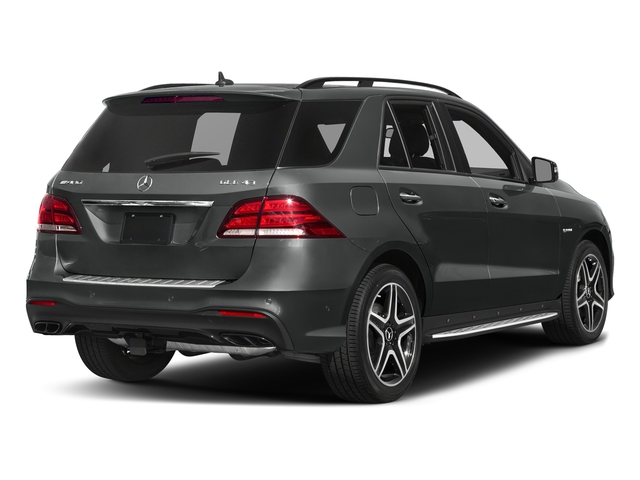 Selenite Grey Metallic 2017 Mercedes-Benz GLE Pictures GLE AMG GLE 43 4MATIC SUV photos rear view