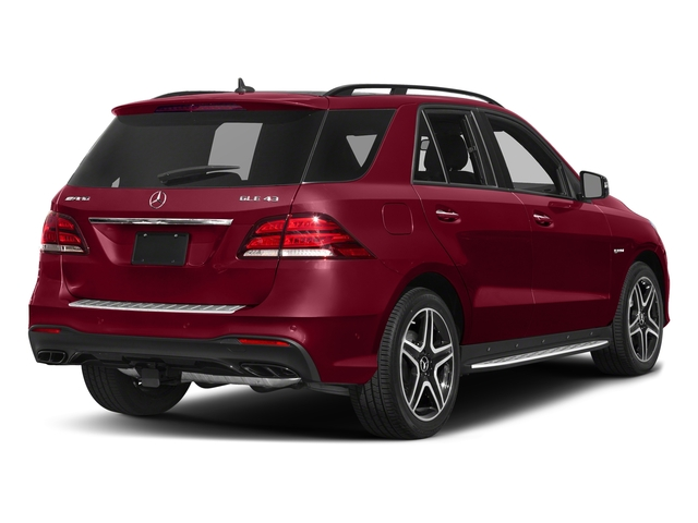 designo Cardinal Red Metallic 2017 Mercedes-Benz GLE Pictures GLE AMG GLE 43 4MATIC SUV photos rear view