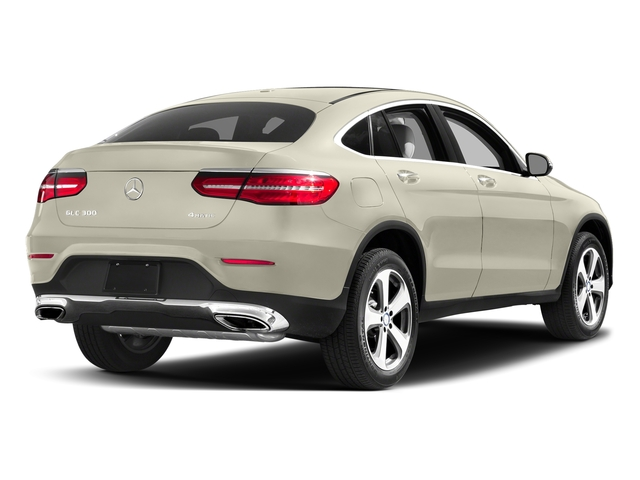 designo Diamond White Metallic 2017 Mercedes-Benz GLC Pictures GLC Util 4D GLC300 Sport Coupe AWD I4 photos rear view