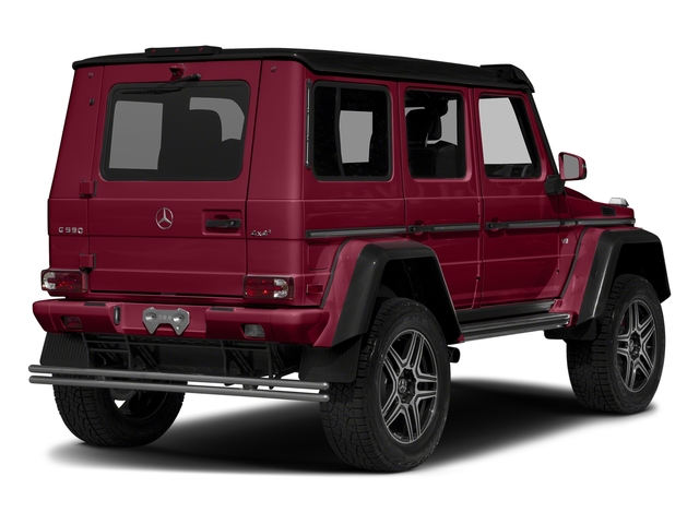 Storm Red Metallic 2017 Mercedes-Benz G-Class Pictures G-Class G 550 4x4 Squared SUV photos rear view