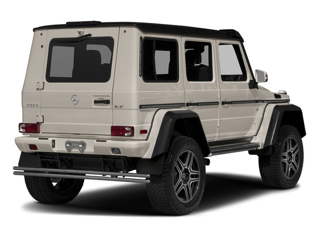 Desert Silver 2017 Mercedes-Benz G-Class Pictures G-Class G 550 4x4 Squared SUV photos rear view