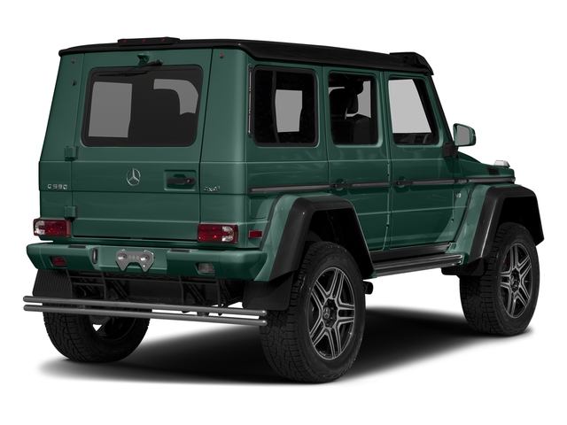Agate Green 2017 Mercedes-Benz G-Class Pictures G-Class G 550 4x4 Squared SUV photos rear view