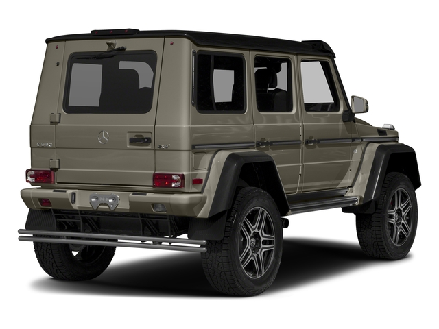 Indium Grey Metallic 2017 Mercedes-Benz G-Class Pictures G-Class G 550 4x4 Squared SUV photos rear view
