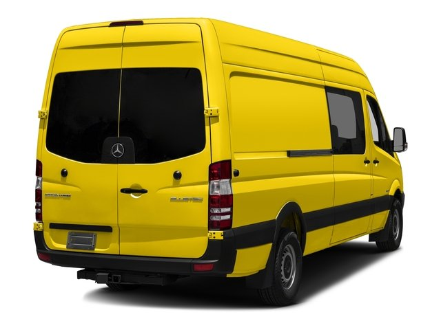 Broom Yellow 2017 Mercedes-Benz Sprinter Crew Van Pictures Sprinter Crew Van 2500 High Roof I4 170 RWD photos rear view