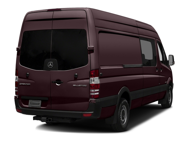 Velvet Red 2017 Mercedes-Benz Sprinter Crew Van Pictures Sprinter Crew Van 2500 High Roof I4 170 RWD photos rear view