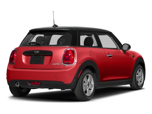 Chili Red 2017 MINI Hardtop 2 Door Pictures Hardtop 2 Door Cooper FWD photos rear view