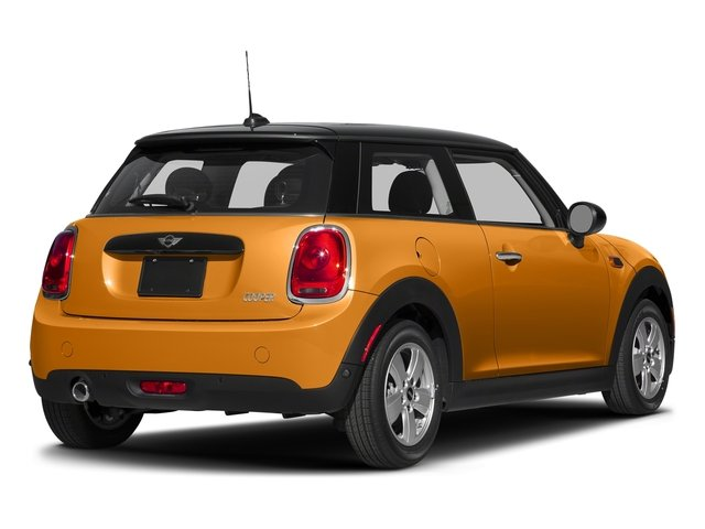 Volcanic Orange 2017 MINI Hardtop 2 Door Pictures Hardtop 2 Door Cooper FWD photos rear view