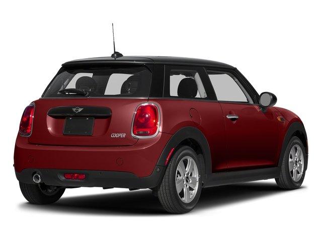 Blazing Red Metallic 2017 MINI Hardtop 2 Door Pictures Hardtop 2 Door Cooper FWD photos rear view