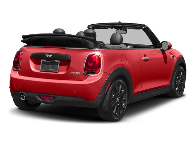 Chili Red 2017 MINI Convertible Pictures Convertible Convertible 2D I3 Turbo photos rear view