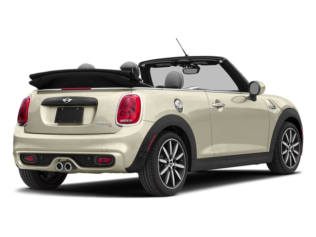 Pepper White 2017 MINI Convertible Pictures Convertible Convertible 2D S I4 Turbo photos rear view