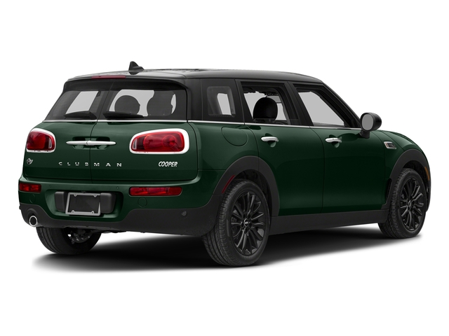 British Racing Green Metallic 2017 MINI Clubman Pictures Clubman Wagon 4D Clubman I3 Turbo photos rear view