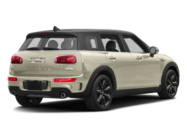 Pepper White 2017 MINI Clubman Pictures Clubman Wagon 4D Clubman S AWD I4 Turbo photos rear view