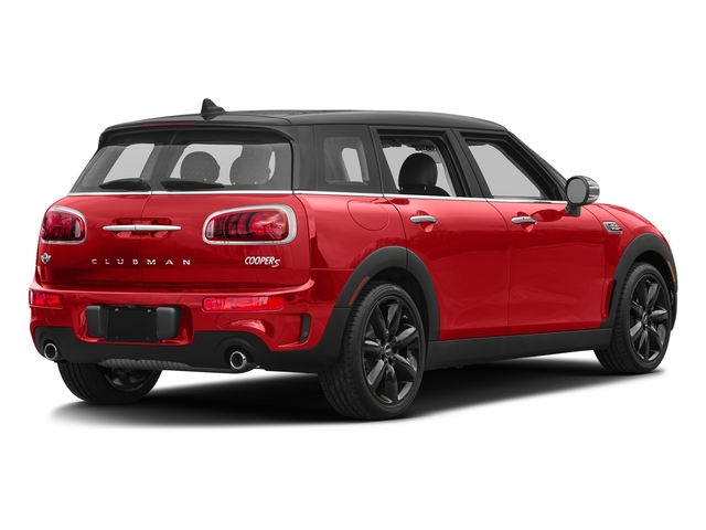 Chili Red 2017 MINI Clubman Pictures Clubman Wagon 4D Clubman S AWD I4 Turbo photos rear view