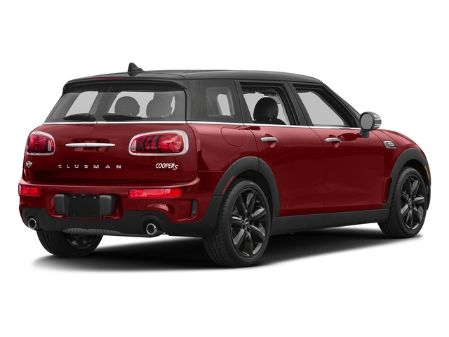 Blazing Red Metallic 2017 MINI Clubman Pictures Clubman Wagon 4D Clubman S AWD I4 Turbo photos rear view