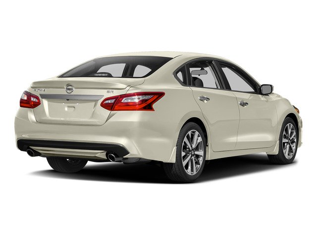 Pearl White 2017 Nissan Altima Pictures Altima Sedan 4D SR I4 photos rear view
