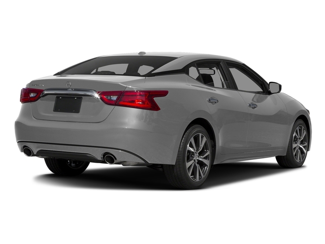 Brilliant Silver 2017 Nissan Maxima Pictures Maxima Sedan 4D SV V6 photos rear view