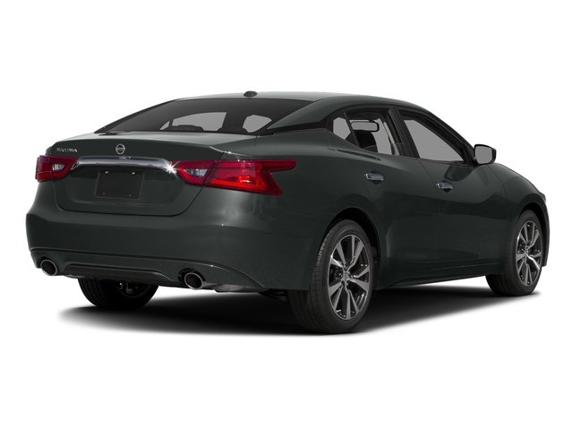 Gun Metallic 2017 Nissan Maxima Pictures Maxima Sedan 4D SV V6 photos rear view