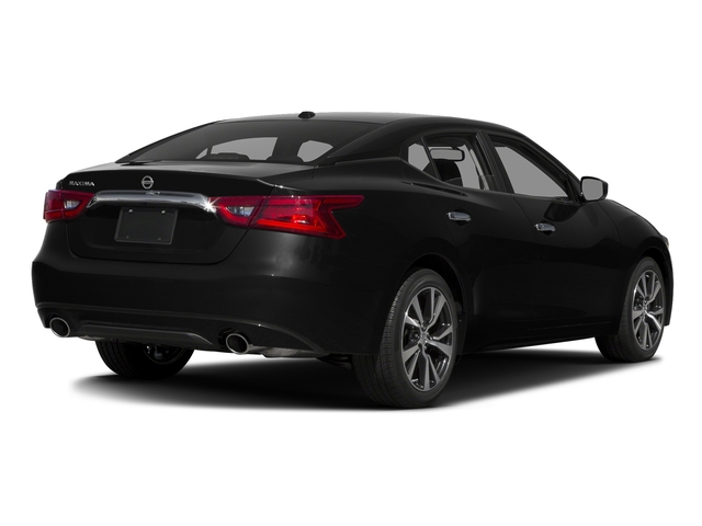 Super Black 2017 Nissan Maxima Pictures Maxima Sedan 4D SV V6 photos rear view