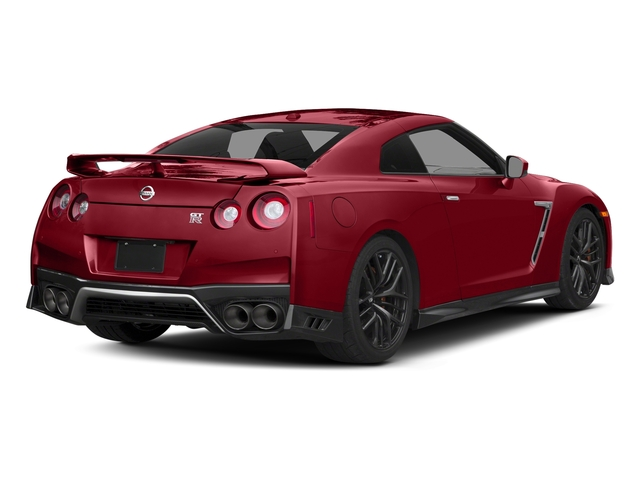 Solid Red 2017 Nissan GT-R Pictures GT-R Coupe 2D Track Edition AWD V6 Turbo photos rear view