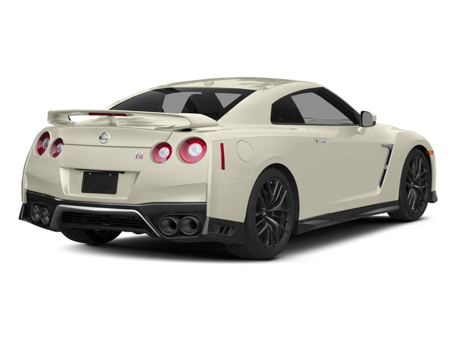 Pearl White 2017 Nissan GT-R Pictures GT-R Coupe 2D Track Edition AWD V6 Turbo photos rear view