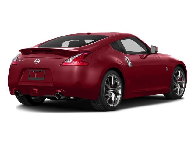 Solid Red 2017 Nissan 370Z Pictures 370Z Coupe Touring Manual photos rear view