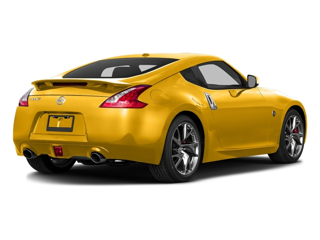 Chicane Yellow 2017 Nissan 370Z Pictures 370Z Coupe Touring Manual photos rear view