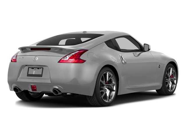 Brilliant Silver 2017 Nissan 370Z Pictures 370Z Coupe Touring Manual photos rear view