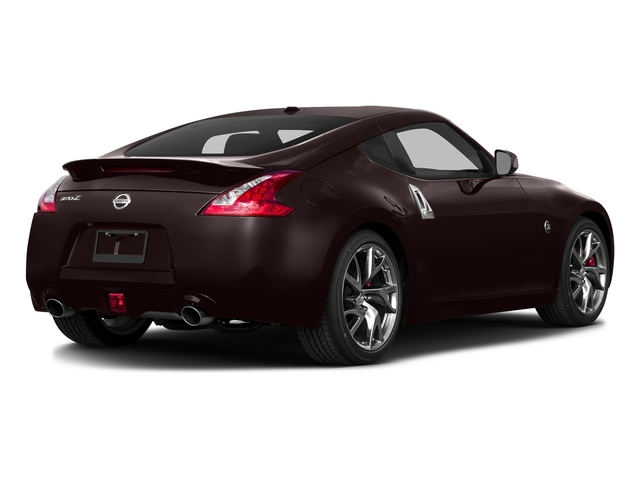 Black Cherry 2017 Nissan 370Z Pictures 370Z Coupe Touring Manual photos rear view