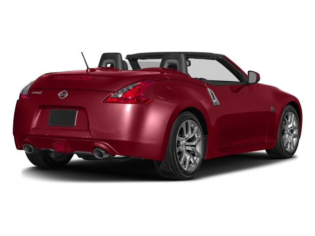 Solid Red 2017 Nissan 370Z Pictures 370Z Roadster Touring Sport Auto photos rear view
