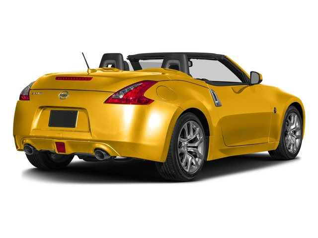 Chicane Yellow 2017 Nissan 370Z Pictures 370Z Roadster Touring Sport Auto photos rear view