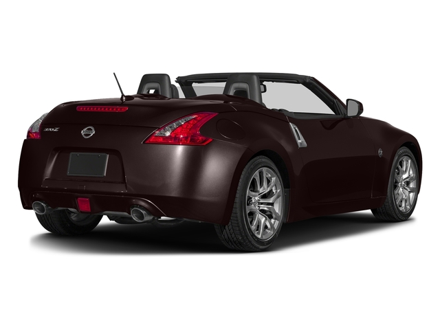 Black Cherry 2017 Nissan 370Z Pictures 370Z Roadster Touring Sport Auto photos rear view