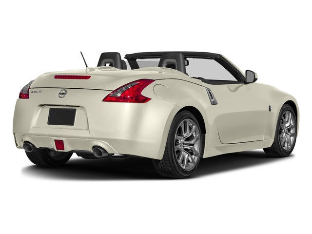Pearl White 2017 Nissan 370Z Pictures 370Z Roadster Touring Sport Auto photos rear view