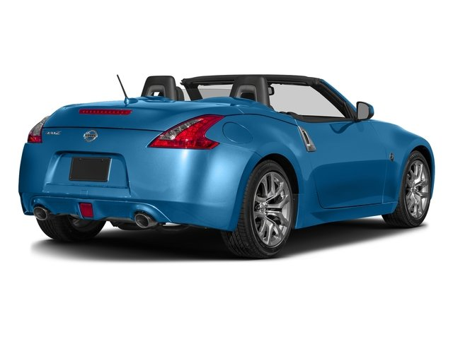 Deep Blue Pearl 2017 Nissan 370Z Pictures 370Z Roadster Touring Sport Auto photos rear view