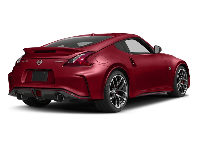 Solid Red 2017 Nissan 370Z Pictures 370Z Coupe 2D NISMO Tech V6 photos rear view
