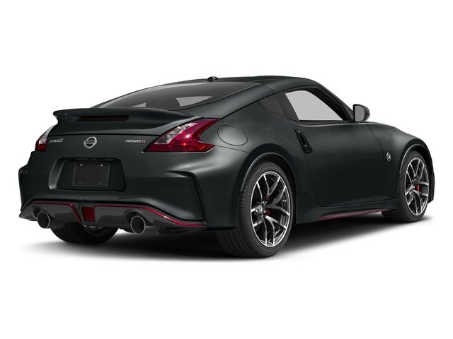 Magnetic Black 2017 Nissan 370Z Pictures 370Z Coupe 2D NISMO Tech V6 photos rear view