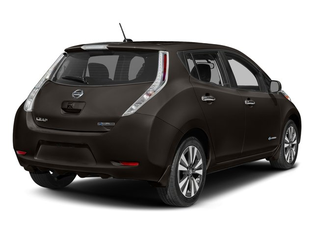 Forged Bronze 2017 Nissan LEAF Pictures LEAF SV Hatchback photos rear view