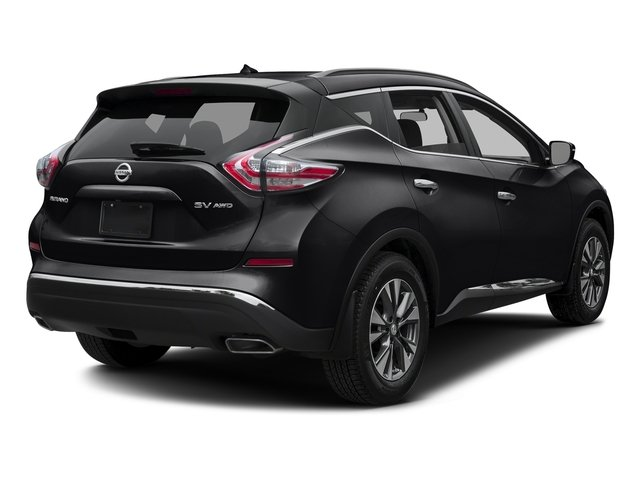 Magnetic Black Metallic 2017 Nissan Murano Pictures Murano 2017.5 FWD SV photos rear view