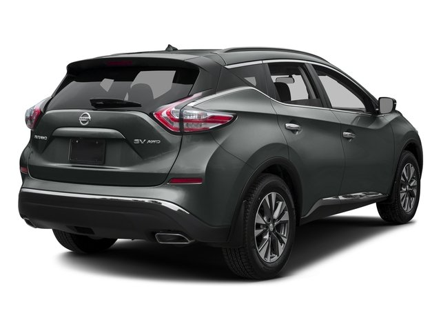 Gun Metallic 2017 Nissan Murano Pictures Murano 2017.5 FWD S photos rear view