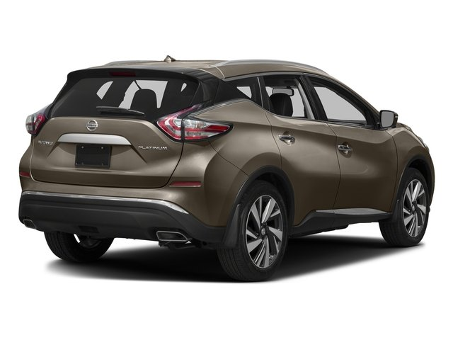 Java Metallic 2017 Nissan Murano Pictures Murano 2017.5 FWD Platinum photos rear view
