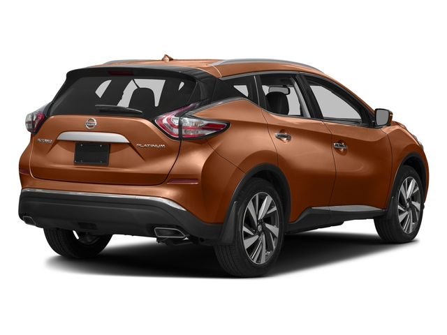 Pacific Sunset Metallic 2017 Nissan Murano Pictures Murano 2017.5 FWD Platinum photos rear view