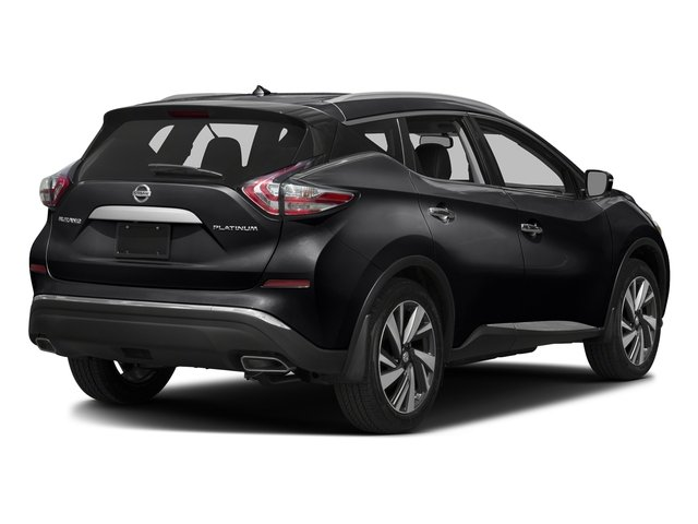 Magnetic Black Metallic 2017 Nissan Murano Pictures Murano 2017.5 FWD Platinum photos rear view